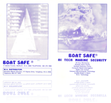 Boat Safe, marine security system